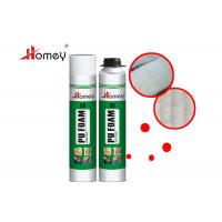 China Waterproof PU Foam Spray For Heat Preservation Soundproofing Insulation on sale