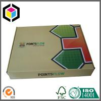 Folding Corrugated Shipping Box; Glossy Color Printing Cardboard Shipping Box Manufactures