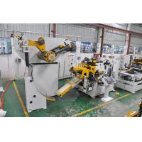 China High Speed Coil Feeder Straightener Stamping And Leveling Machine For Sheet Metal on sale