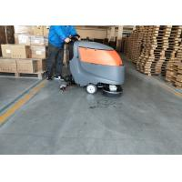 13 Inch Brush Suit Floor Scrubber Dryer Machine For Large Cleaning Area Manufactures