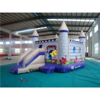 China 6×4M  Inflatable popular Bouncer Inflatable snow White  combo on sale