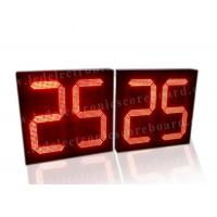 5V Red Color LED Countdown Timer For Basketball Game Customized Design Manufactures