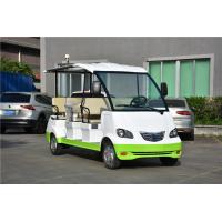 Lead Acid Battery Powered Electric Sightseeing Car 8 Passenger , Recharge Time 8 ~ 10h Manufactures