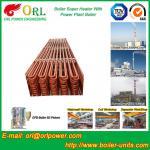 Fire Tube CFB Boiler Super Heater Coils Anti Corrosion ASME Standard Manufactures