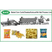 Corn curls, Cheese curls, Nik naks making machines Manufactures