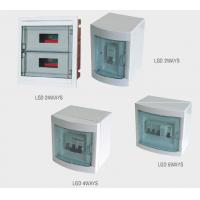 China Flush Mount Plastic Electrical Distribution Box for commercial buildings / household on sale