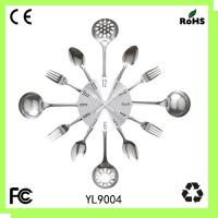 Metal pan clock/kitchen wall clock Manufactures