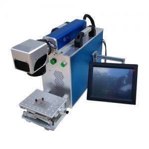 China Stainless Steel Sheet Metal Marking Machine , Fiber Optic Laser Engraving Machine on sale