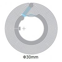 Buy cheap Dia 33mm PET HF RFID Inlay Wet With RFID Classic ® / ICODE SLI / NFC Chip from wholesalers
