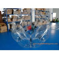 TPU Inflatable Bubble Ball Customized Size For Amusement Park Play Manufactures
