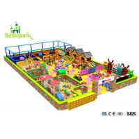 Building Block Park Kids Indoor Playground Puzzle Environmently Friendly Manufactures