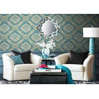 Washable Country Style Wallpaper , Modern Removable Wallpaper Eco - Friendly Manufactures