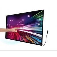 10 Fingers Points Multi Touch Display Screen Overlay Kit , Indoor Infrared Touch Screen Panel Manufactures