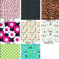 Printed cotton fine twill Manufactures