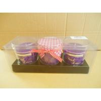 China Nontoxic Scented Glass Jar Scented, Jar Candle Gift Set on sale
