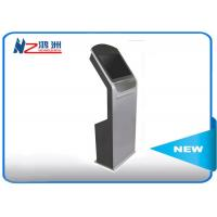 Stand 22 Inch Outdoor Touch Screen Kiosk , Led All In One Electronic Information Kiosk Manufactures