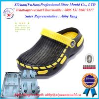 Hot Style Men Eva Injection Slipper Mould , Two Color Eva Slippers Sandal Shoes Moulds Manufactures