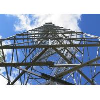 Self Supporting Mobile Network Tower , 55m 4 - Leg Mobile Network Tower Manufactures