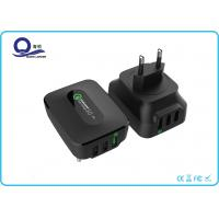 3 Ports 25W Qualcomm Quick Charge 3.0 & Smart USB Charger Wall Charger for Apple Manufactures