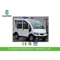Full Enclosed Passenger Cabin Mini 4 seats Electric Buggy For Patrol CE Approved Manufactures