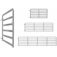 10ft / 12 Foot Galvanized Farm Gate, 25nb Pipe Livestock Metal Agricultural Gates Manufactures