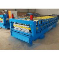 840 / 900mm Double Layer Roll Forming Machine For Pressing Glazed Roof Tile Manufactures
