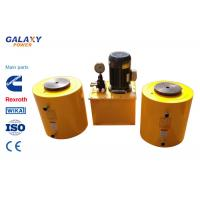 Double Acting Small Hydraulic Cylinder Central Solid Hydraulic Jack Hollow Plunger Manufactures