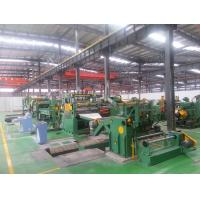 Cut To Length Machines , Steel Coil Slitting Line For Construction