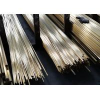Brass Bar C3604 - C3771 Copper Alloy Tube For Communication SGS Certificate Manufactures