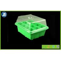 Green Seed Germination Tray Blister Packaging Tray 224mm x 214mm x 52mm For Greenhouse Manufactures