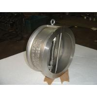 Small and Light Weight Stainless Steel, DIN 2501 PN6 / PN10 Flange Wafer Check Valve Manufactures