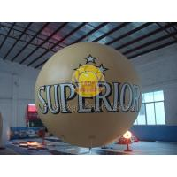 Customized Fireproof 3m diameter PVC Material inflatable advertising helium balloon Manufactures