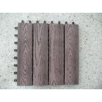 Commercial Solid Wood Plastic Composite Flooring for Garden,Park and Balcony Manufactures