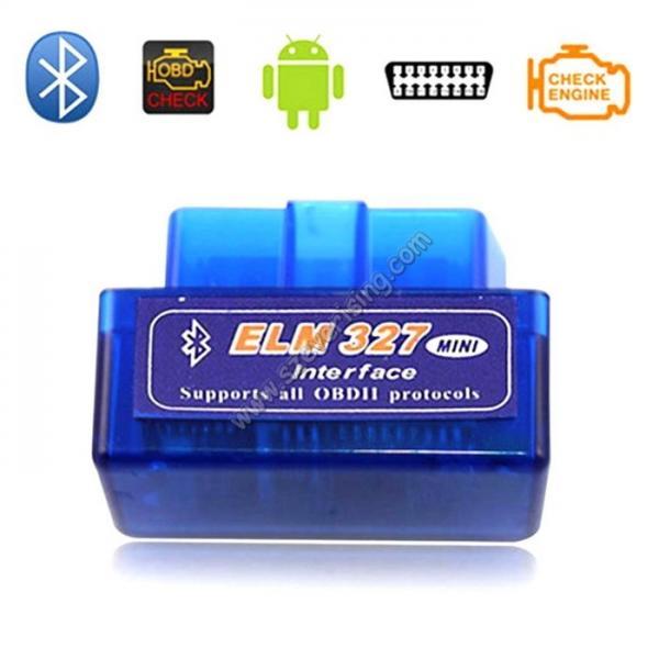 Quality Mini ELM327 Bluetooth OBD2 Reader Adaptor Icar Mini OBD2 Scanner for sale