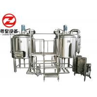 Stainless Steel Electric Beer Brewing Machine , Polished Alcohol Making Machine Manufactures