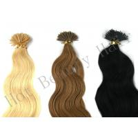 Customized 100 Remy Pre Bonded Hair Extension Straight OEM ODM Manufactures