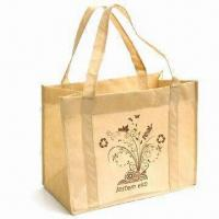 Promotional Jute Bag, Customized Designs and Logos are Accepted Manufactures