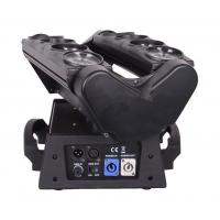 Quality Professional 8* 10W Mini LED Spider Light / Led Moving Head Lights For Small for sale