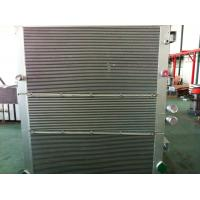 China Aluminum Air Compressor Heat Exchanger / Combined Oil-Air Cooler / Vacuum Brazing on sale