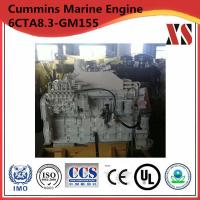 China Cummins marine engine genset 6CTA8.3-GM155 on sale