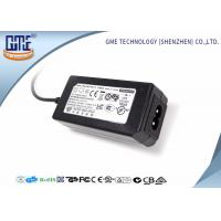 24W Desktop Switching Power Supply Black Color 15V With AC / DC Cable Manufactures