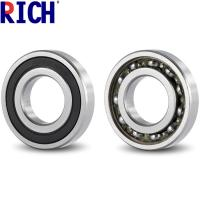 Chrome Steel 62 / 32 Tensioner Pulley Bearing Grease Or Oil Lubrication Manufactures