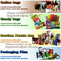 COFFEE BAGS, CANDY BAGS, CHOCOLATE BAGS,SUCTION NOZZLE BAG,PACKING ROLL FILM,POUCHES, NESPRESSO COCA COLA,FOOD PACK, BAG Manufactures