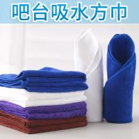 Colorful Square Super Absorbent Towel With A Cloth Hook 30 * 30CM Manufactures