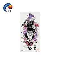 Yincai Waterproof Easy Transfer Tattoo Beauty Body Painting Non-toxic Tattoo Sticker with Competitive Price Manufactures