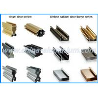 Quality Kitchen Cabinet Aluminum Window And Door Frame Profile Colorful 6m Length for sale