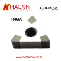 Halnn TNGA160404 BN-H20 CBN Inserts For turning bearing steel cutting tools Manufactures