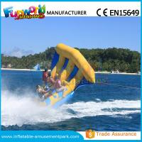 Digital Printing Inflatable Boat Toys Flying Fish Boat One Years Warranty Manufactures
