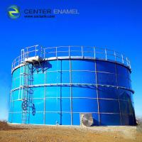 China Industrial Glass Lined Steel Water Storage Tanks  For Sewage Treatment Plant on sale