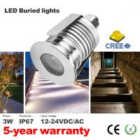 Mini Led Deck Lights DC12V Low Voltage Outdoor Lighting  IP67 Recessed spotlights Led Buried light Exterior Lighting Manufactures